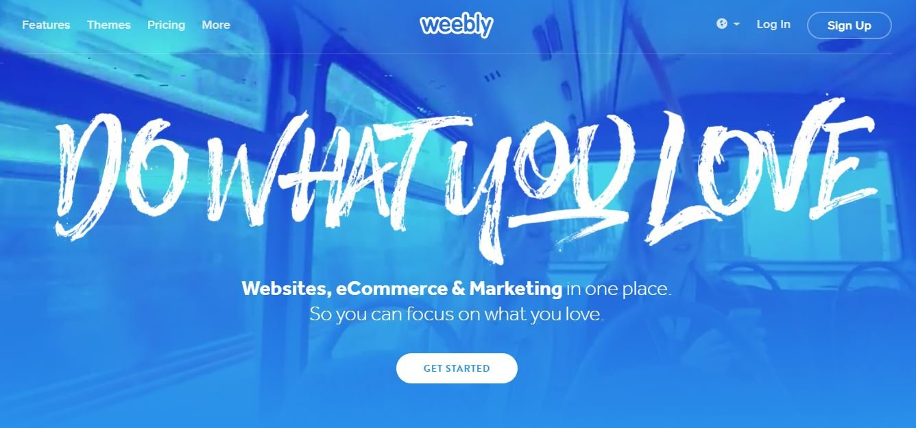 Create a free website with Weebly