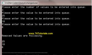 Queue Insert Delete Implementation and Operations in Data Structures (C plus plus)
