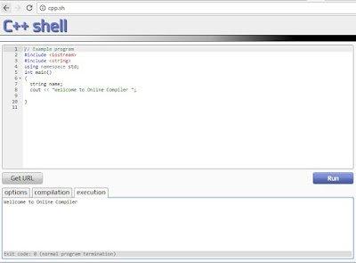 Run-c++-online