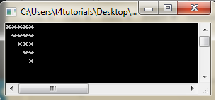 three level nested for loop program in C++ (C Plus Plus)