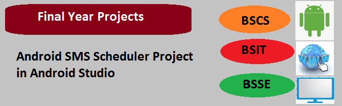 Android SMS Scheduler Project in Android Studio
