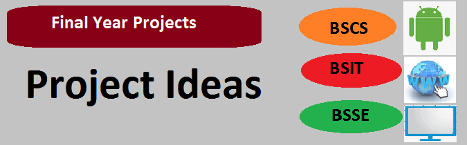 Final Year Project Ideas BSCS BSIT MCS BSSE | T4Tutorials