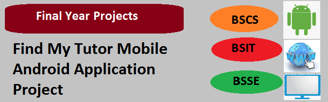 Find My Tutor Mobile Android Application Project