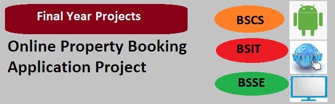Online Property Booking Application Project