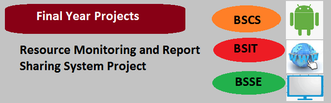 Resource Monitoring and Report Sharing System Project
