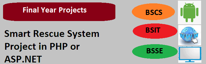 Smart Rescue System Project in PHP or ASP.NET